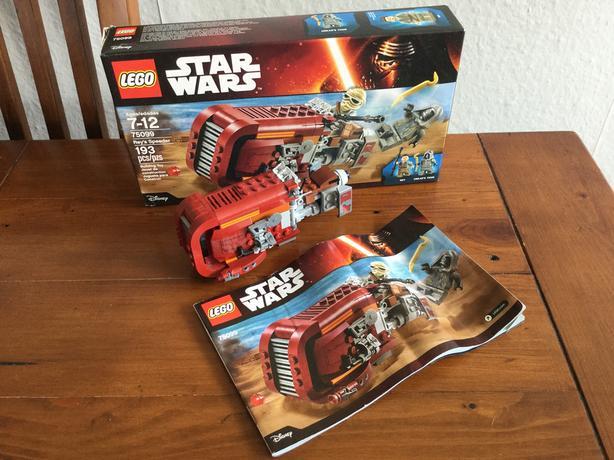 Star Wars LEGO Rey's Speeder