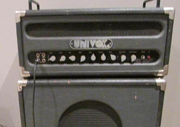 Univox  2X12 cab with 2 Celestion Heritage speakers