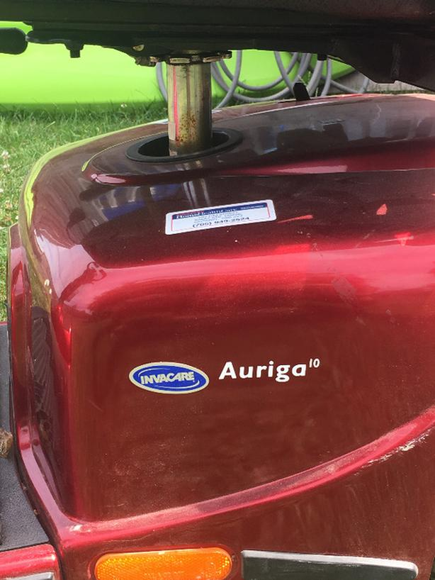 Auriga 10 Invacare 4 Wheel Mobility Scooter