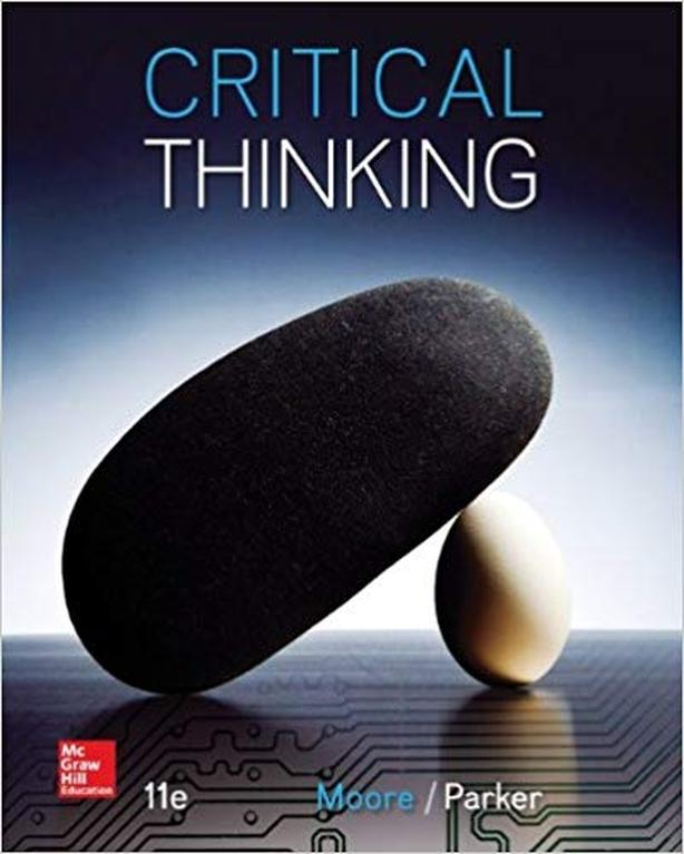 Critical Thinking Textbook 11th Edition