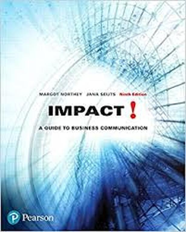Impact!: A Guide to Business Communication & The Little Pearson Handbook