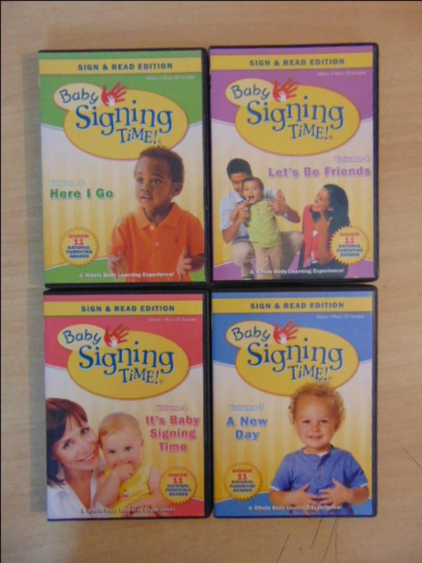 Baby Signing Time Sign And Read 4 Complete Dvd Rachel Coleman