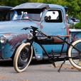 Sale: Retro/Vintage Styled Electric Bicycle