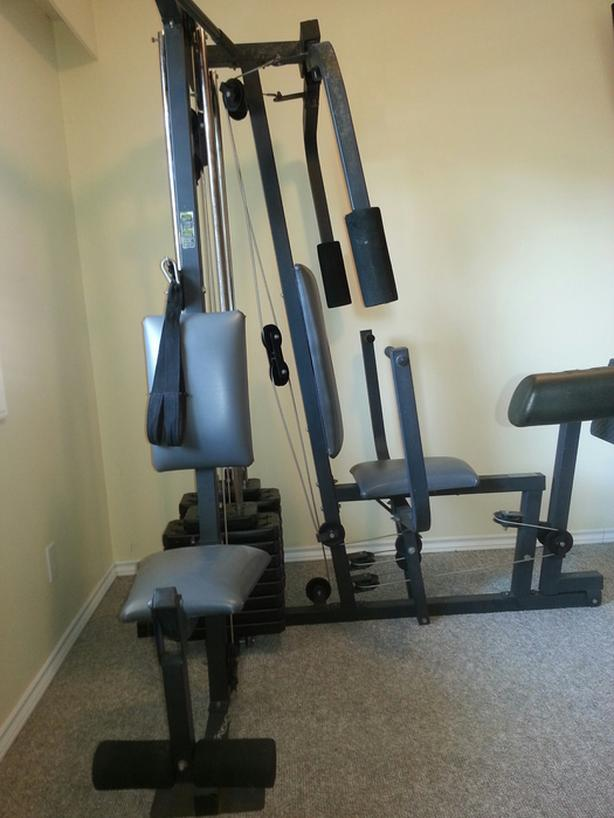 Weider training system home gym nanaimo outside cowichan