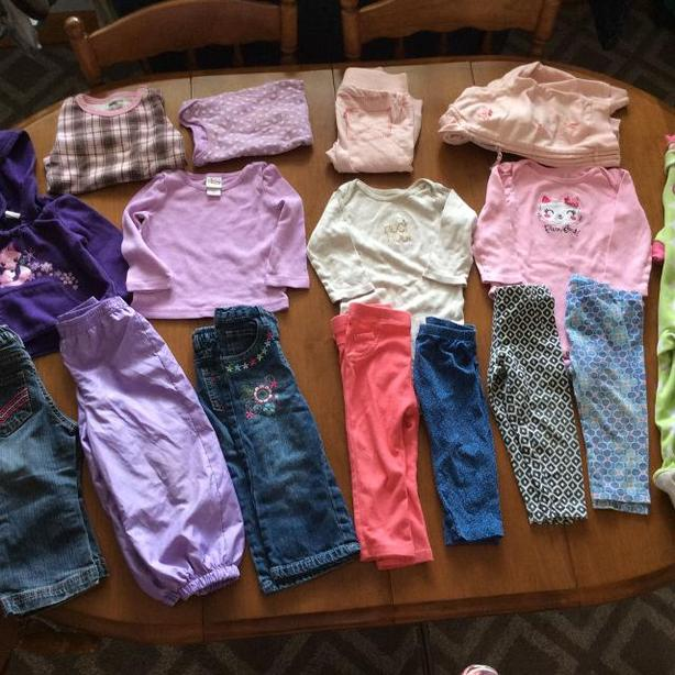 c767bc6f3 18 MONTH BABY GIRL FALL  WINTER LOT West Shore  Langford