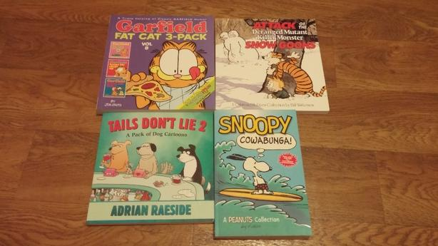 4 Comic Books Garfield Calvin Amp Hobbes The Other Coast Snoopy Oak Bay Victoria Mobile