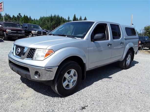 2007 Nissan Frontier Crew Cab, 164,805 Miles, Loaded Unit With Canopy!