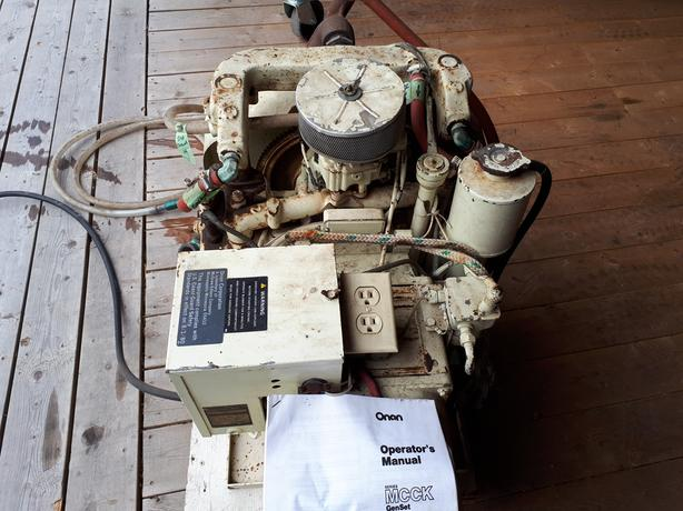 Onan 6 5 Kw Marine Genset Duncan Cowichan MOBILE