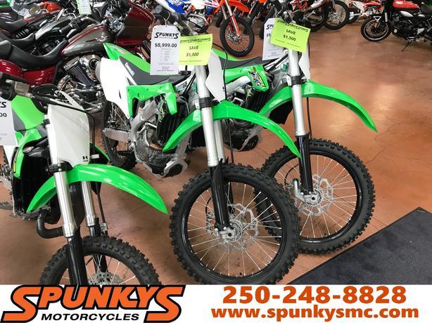 Kawasaki 450F - Save $1500 Today!