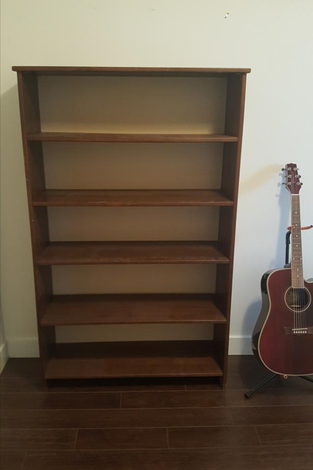 Clean Good Condition Bookshelf 65 Inches High And 30 Wide Please Pick Up