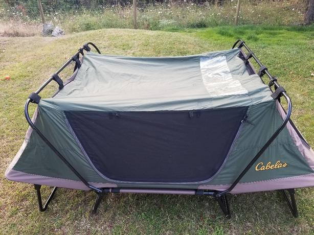cabelas delux tent cot Malahat (including Shawnigan Lake