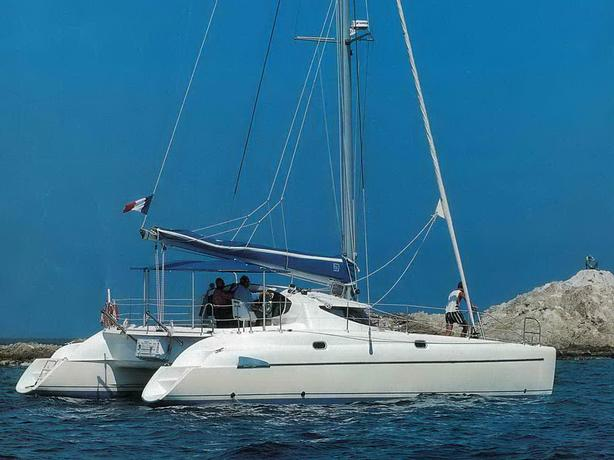 Fountaine Pajot Athena 38 Catamaran For Sale - Freedom III