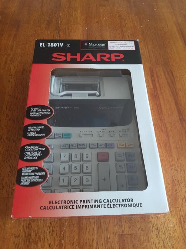 SHARP ELECTRONIC PRINTING CALCULATOR