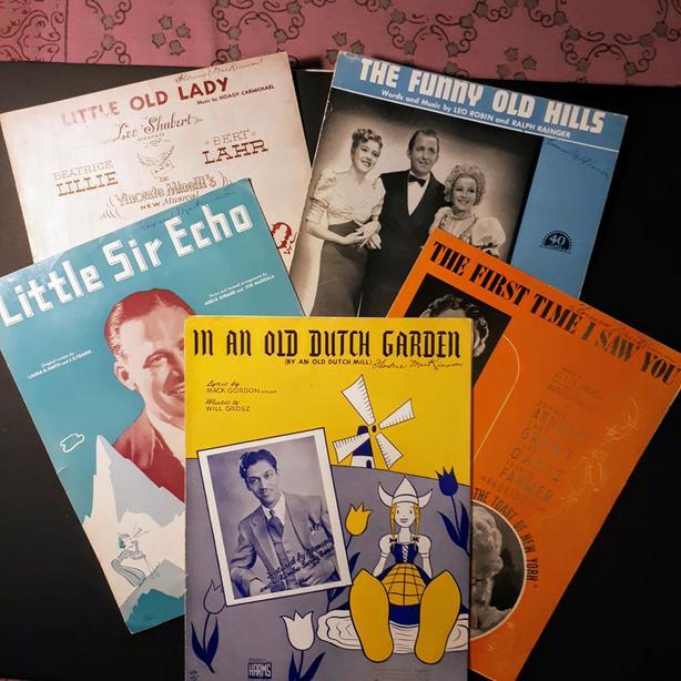 Vintage 1930s Original Sheet Music