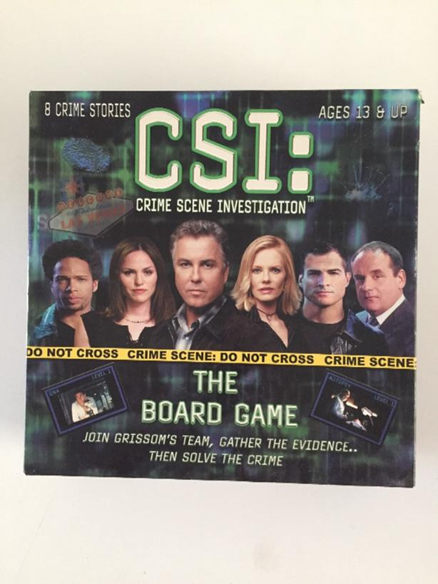 CSI The Board Game