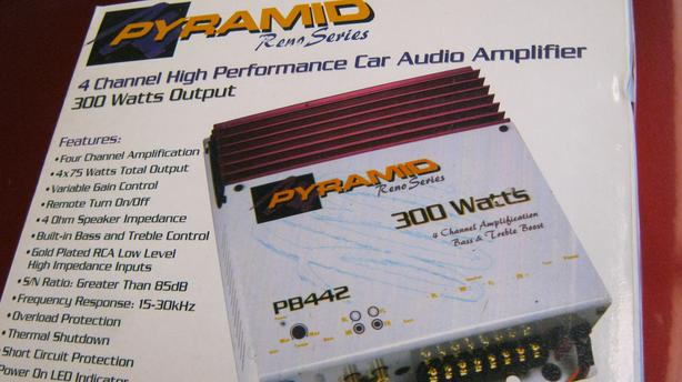 Pyramid PB-442 Car High Performance Audio 4X75 Watts