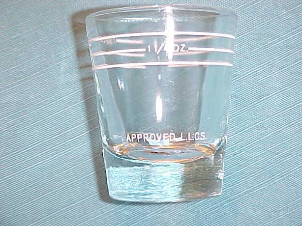 LLCS SHOT GLASS