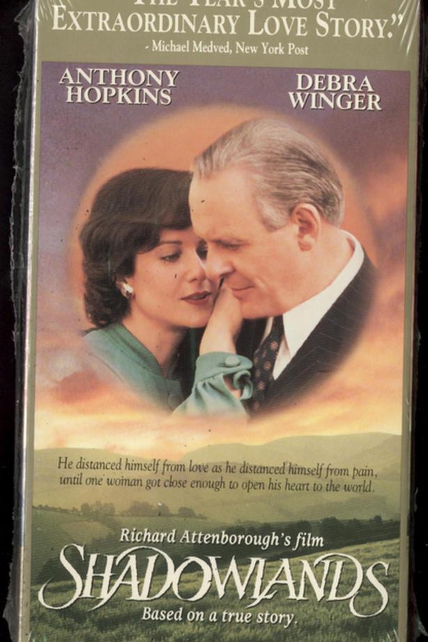 Factory Sealed VHS Shadowlands Anthony Hopkins Debra Winger