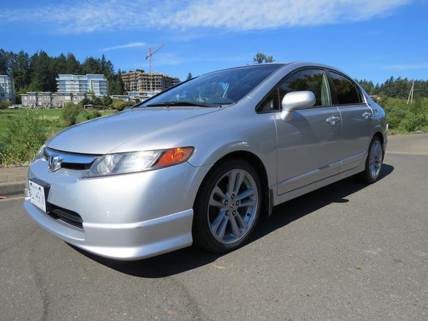 2008 Honda Civic Low Km Si Wheels Si Spoiler Remote Start Etc
