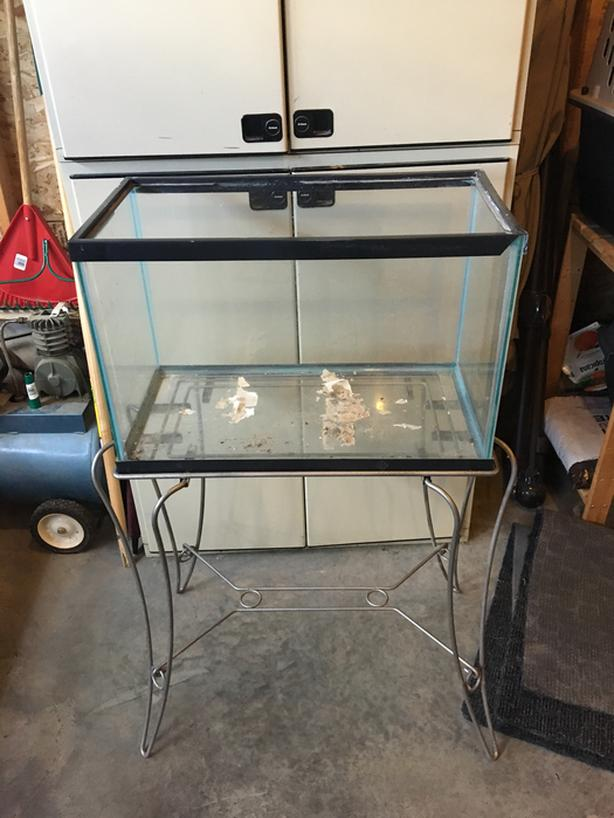 20 Gallon Terrarium with stand