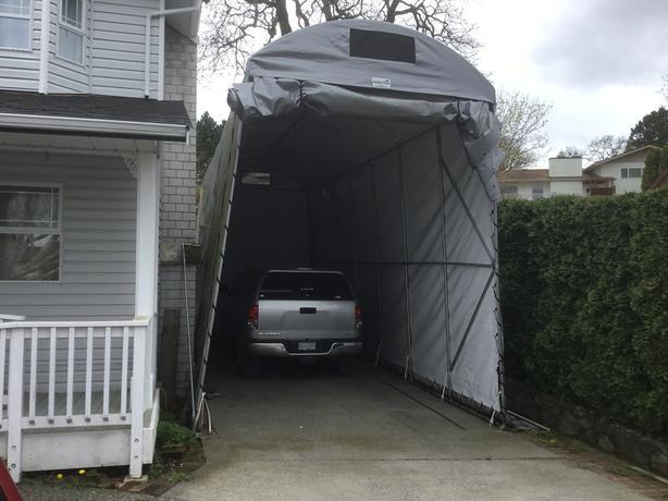 Portable RV Garage   Cover Tech