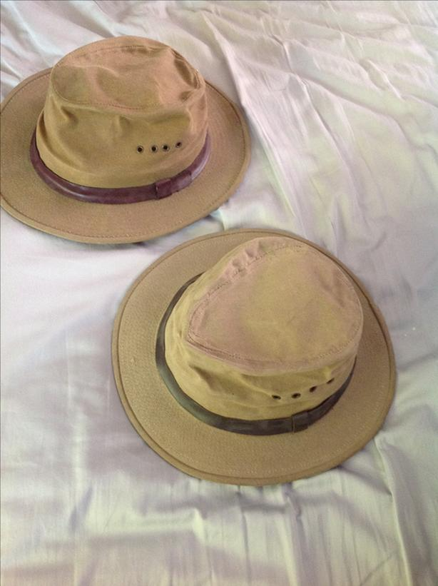 c3a0bab9c  Log In needed $35 · Vintage Filson Tin Cloth Packer Canvas Hat size S