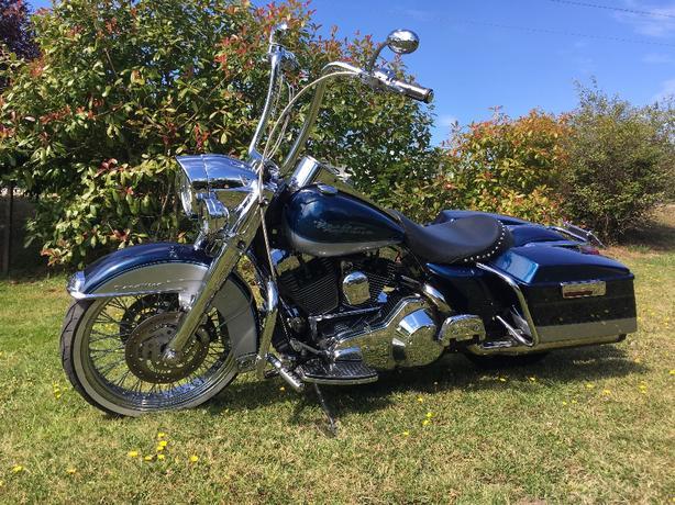  Log In needed $12,000 · 2000 Harley road king chopper