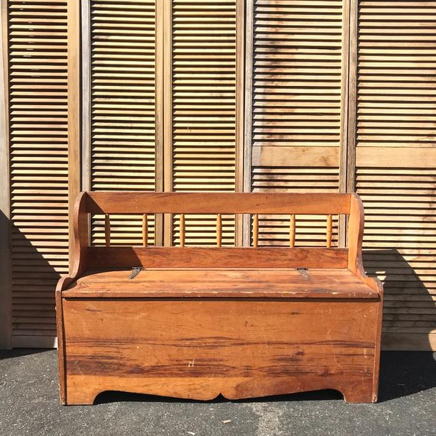 Pleasant Log In Needed 75 Vintage Parsons Bench Farmhouse Bench Camellatalisay Diy Chair Ideas Camellatalisaycom