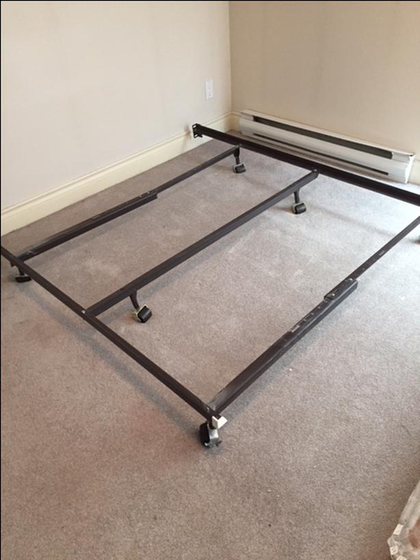Metal Bed frame used for Queen Bed Victoria City, Victoria