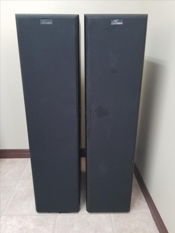 NUANCE floorstanding speakers
