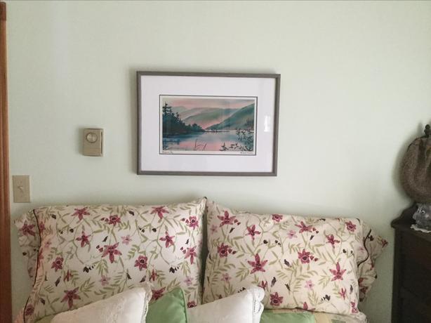 Wooden Framed Print of Honeymoon Bay