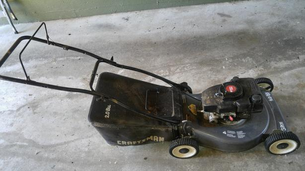 FREE: Craftsman Gas Lawnmower
