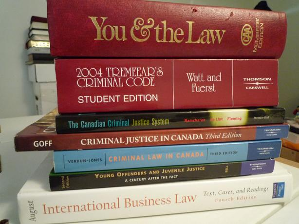 Collection of 10 Law Books