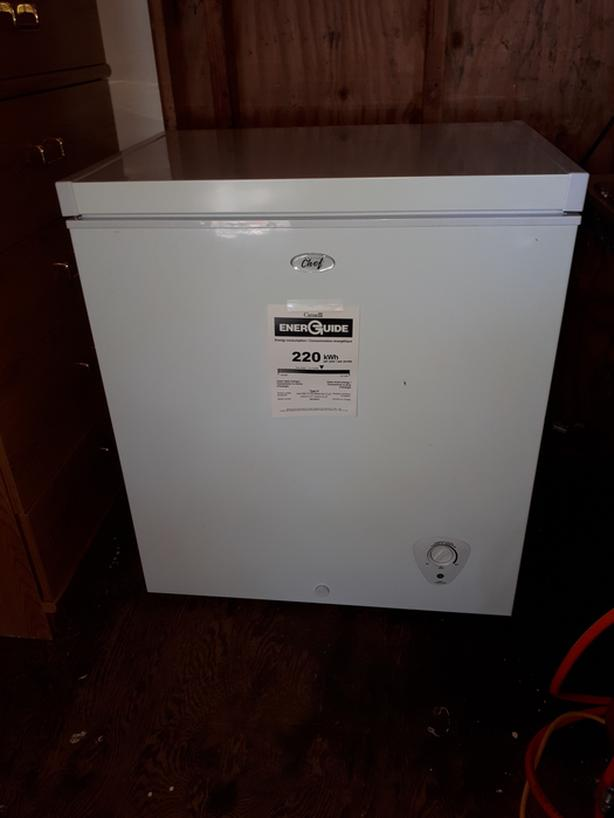 Like new small freezer