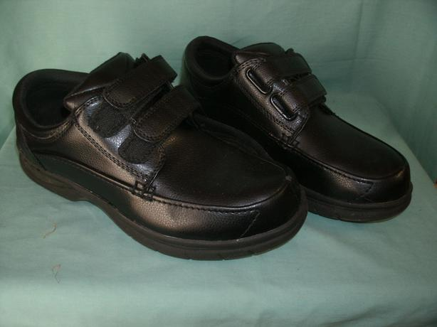 Black Leather Dress Shoes size 8.5 W by Dr. Scholl  39 s West Shore ... 0a7bc65fe91