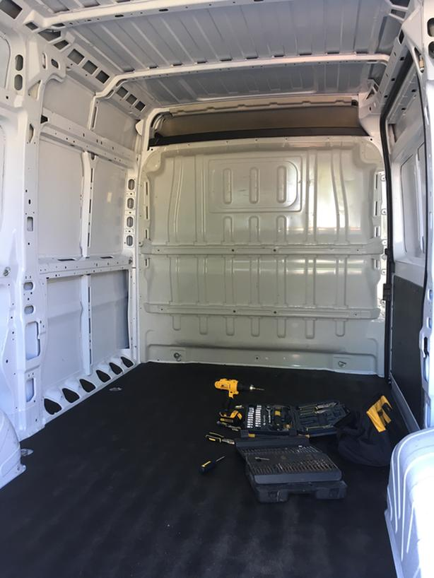 FREE: Cargo Divider for Ram Promaster
