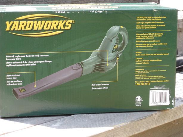 Yardworks Leaf Blower - New