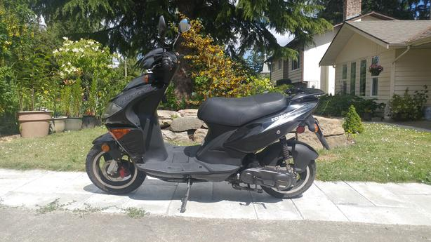  Log In needed $500 · 2009 - 49cc TOMOS Nitro Scooter - AS IS