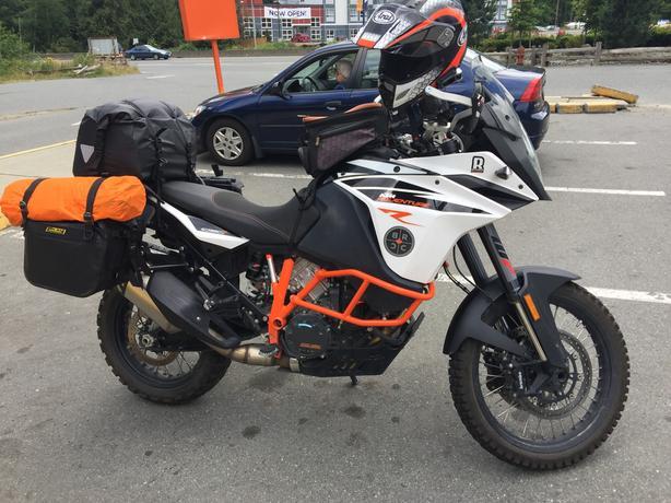Up For Adoption 2017 KTM 1090 Adventure R