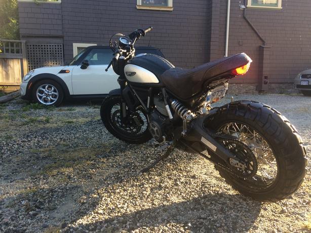 Custom 2015 Ducati Scrambler 800cc Victoria City Victoria