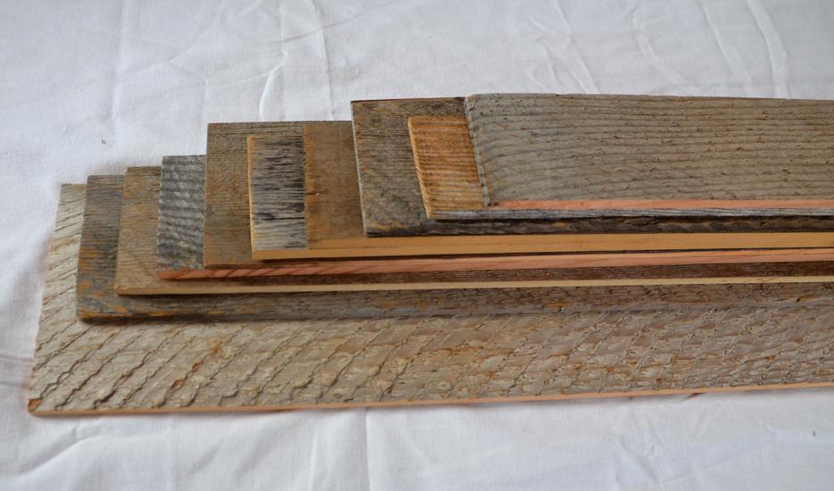 $3 · Reclaimed weathered grey barn board VENEER lumber for ...