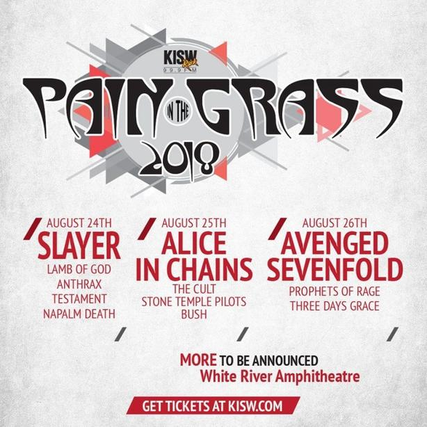3 pain in the grass tickets for all 3 days