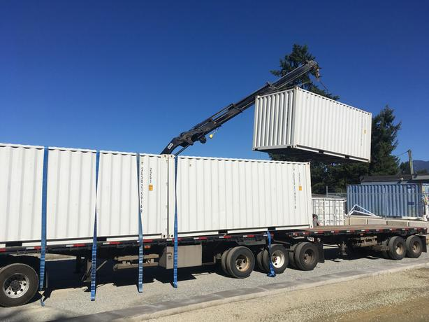 8' by 20' One Trip Shipping Containers