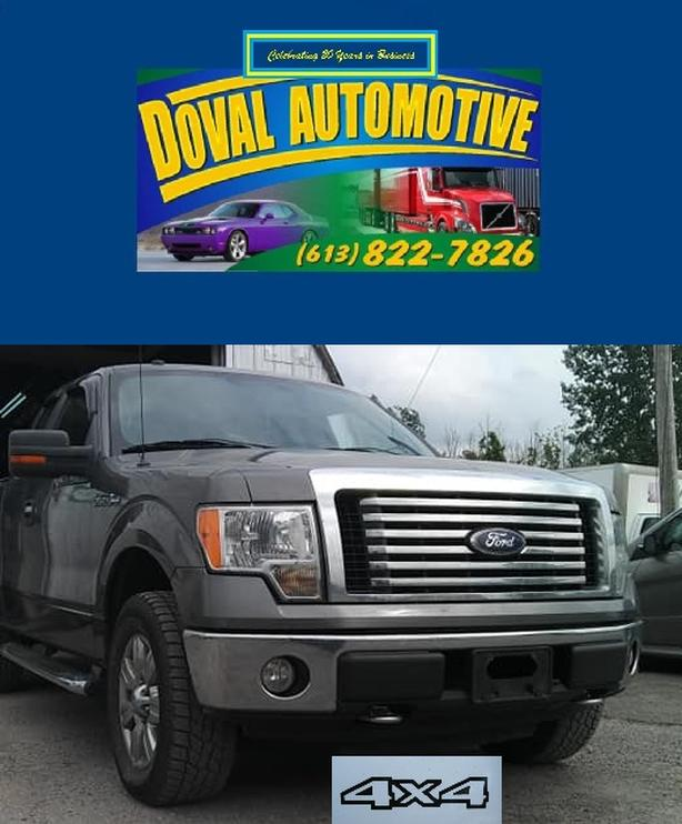 Certified 2010 F150 XTR 4x4, V8, 5.4, fully loaded 613-822-7826