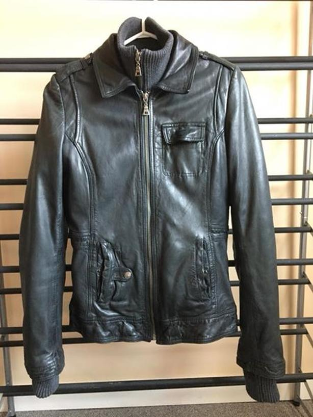 ad2481a5281 New Black Danier Leather Jacket Victoria City
