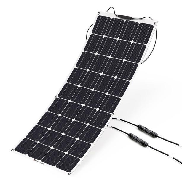 100 watt semi flexible solar panels