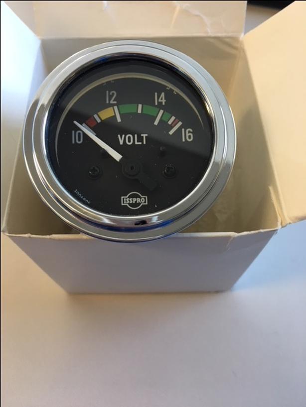 isspro voltmeter gauge - 12v
