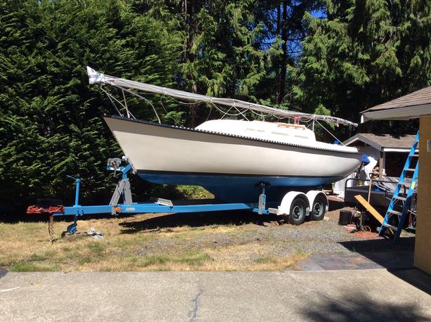 26ft T26 Columbia sailboat