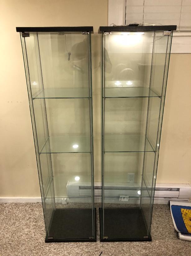 Ikea Detolf Glass Case Victoria City Victoria