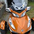 Immaculate Can Am Spyder RT-S